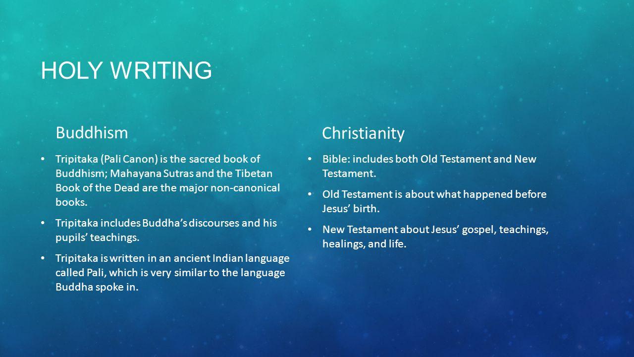 buddhist holy writing