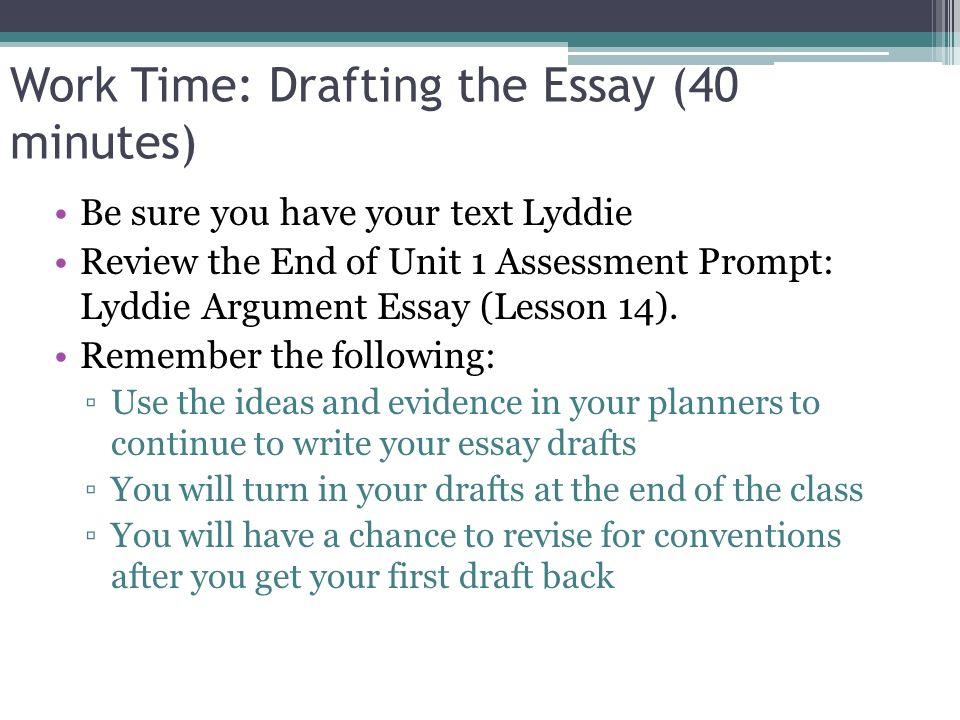 Module 2A: Unit 1: Lesson 18 End of Unit 1 Assessment, Part 1 ...