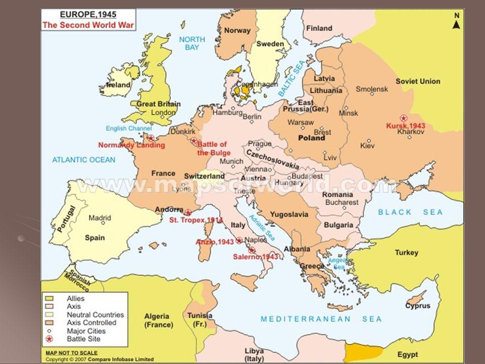 World War II Who AlliesAxis Great Britain Soviet Union United