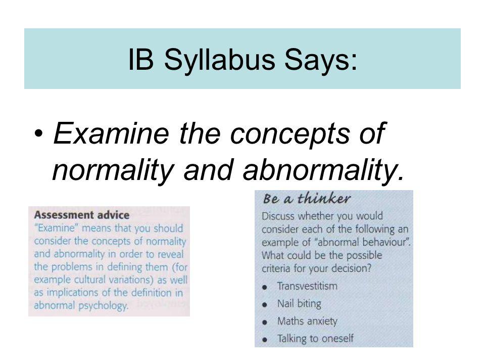 Mood anxiety syllabus
