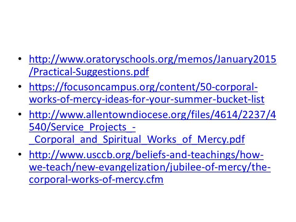 Usccb Works Of Mercy Solidaphikworks