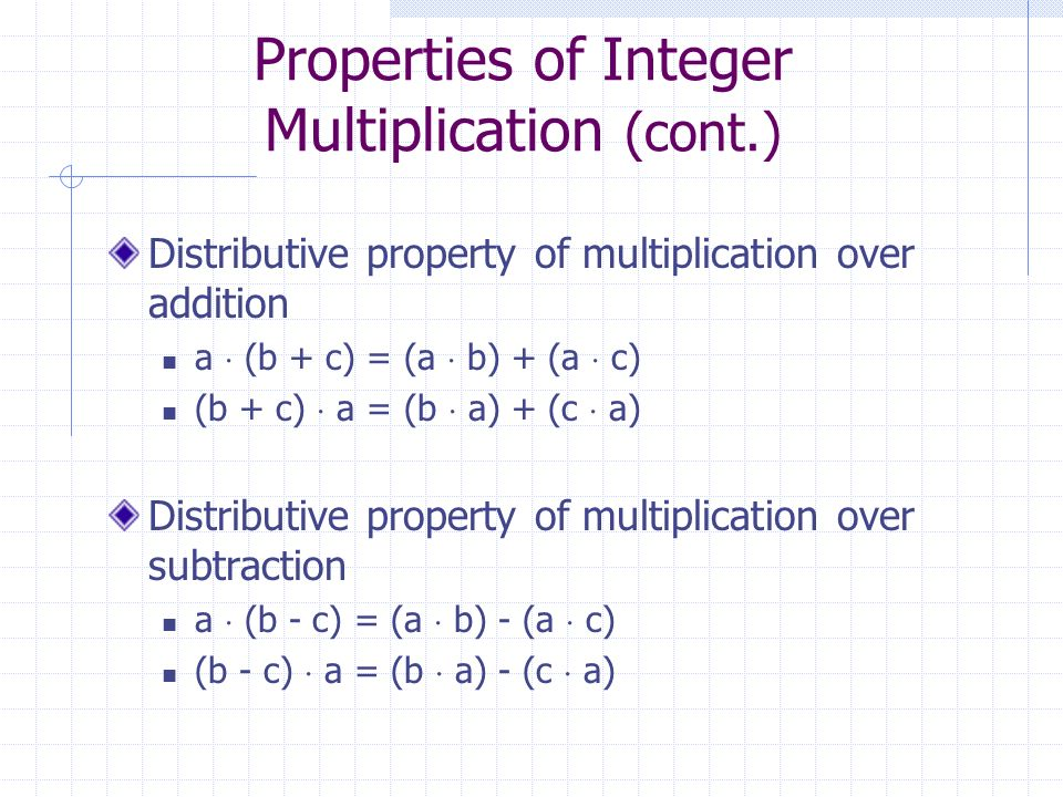 Distributive property of multiplication and addition k--i.top 2018