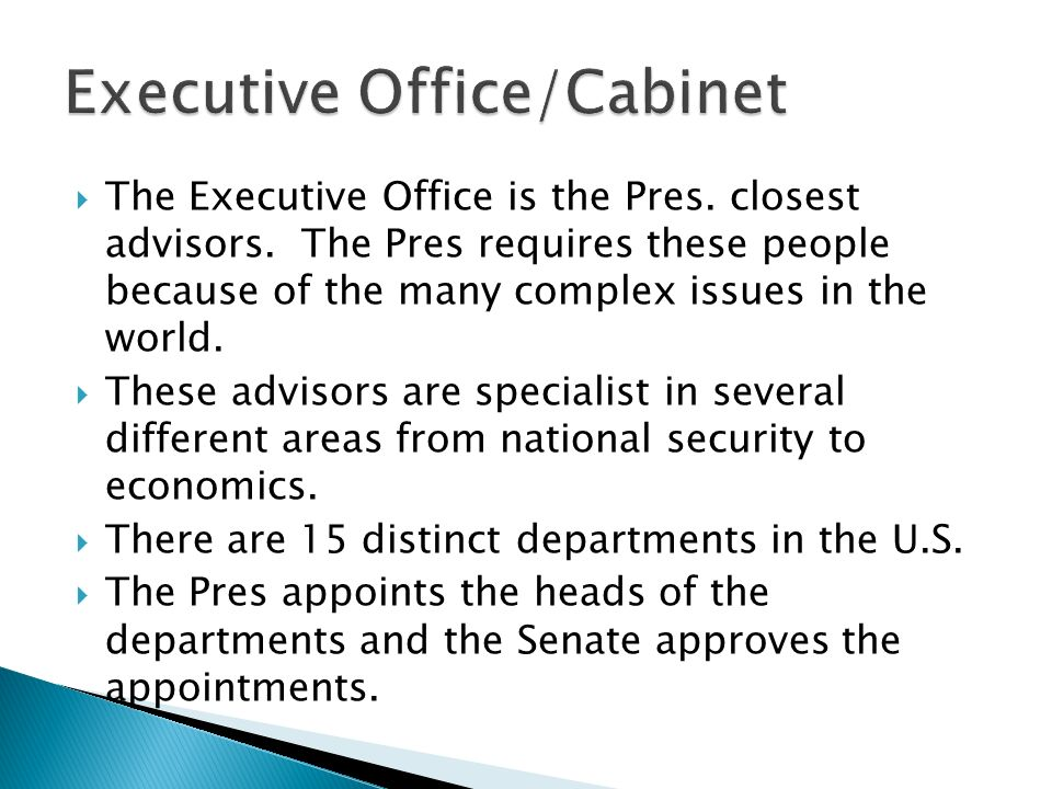 Sec 1 The Presidency Sec 2 Powers and Roles of the President Sec 3 ...