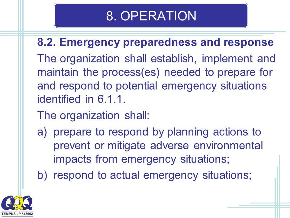 8. OPERATION 8.2.