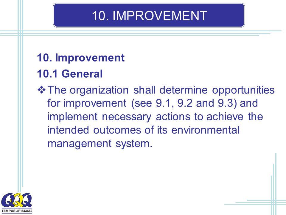 10. IMPROVEMENT 10.