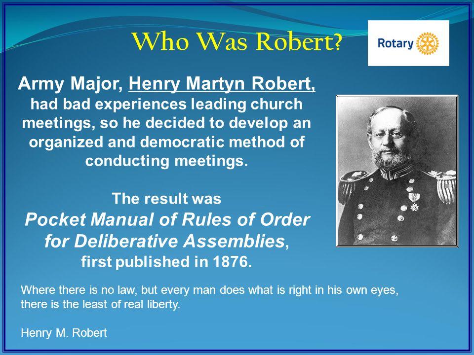 Who Was Robert.