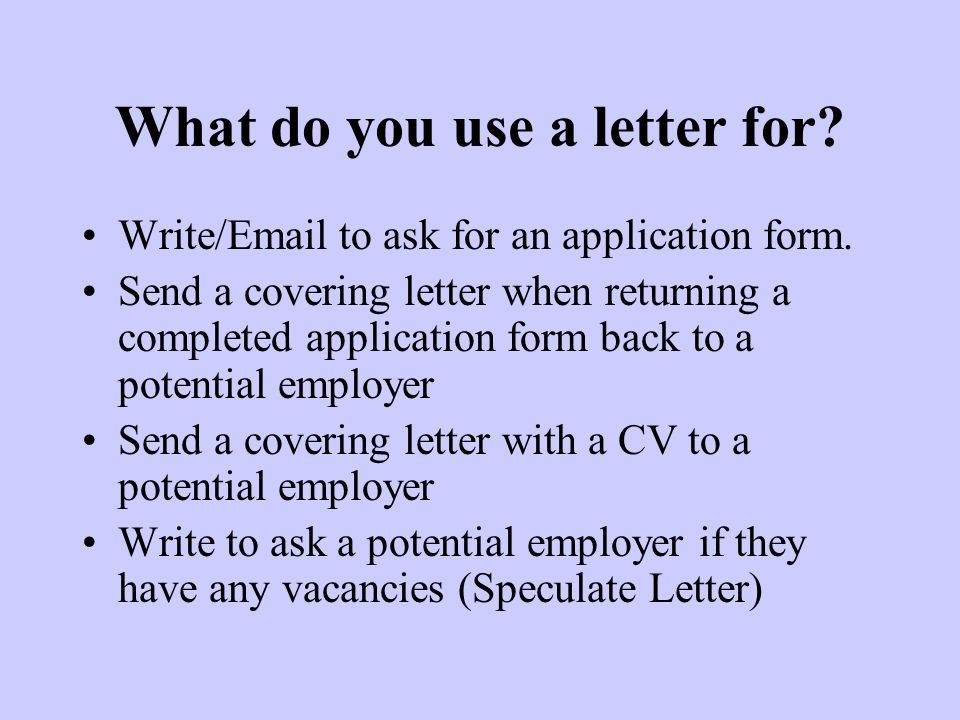 writing a cover letter to go with an application form To give your job application the best possible chance of success you need to know how to write a relevant and concise cover letter take a look at our examples for inspiration a cover letter is a document sent alongside your cv when applying for jobs it acts as a personal introduction and helps to.