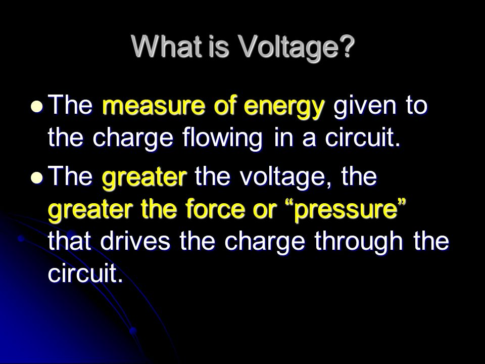 How do we Measure Electricity.