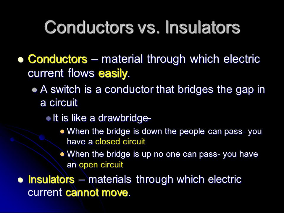 Electricity that moves… Current (electricity): The flow of electrons from one place to another.