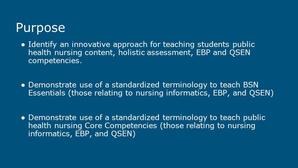 applying standardized terminology in nursing