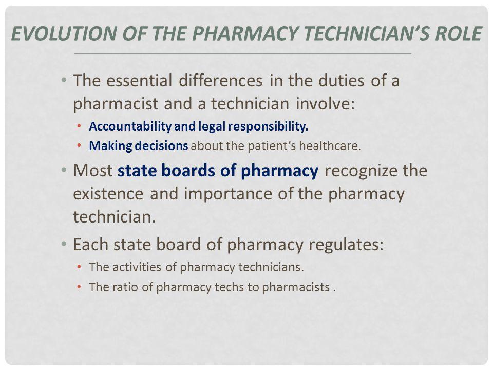 THE PHARMACY TECHNICIAN Chapter 2 The Pharmacy Technician. - ppt ...