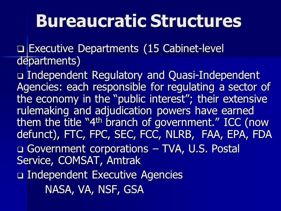 post bureaucratic structure