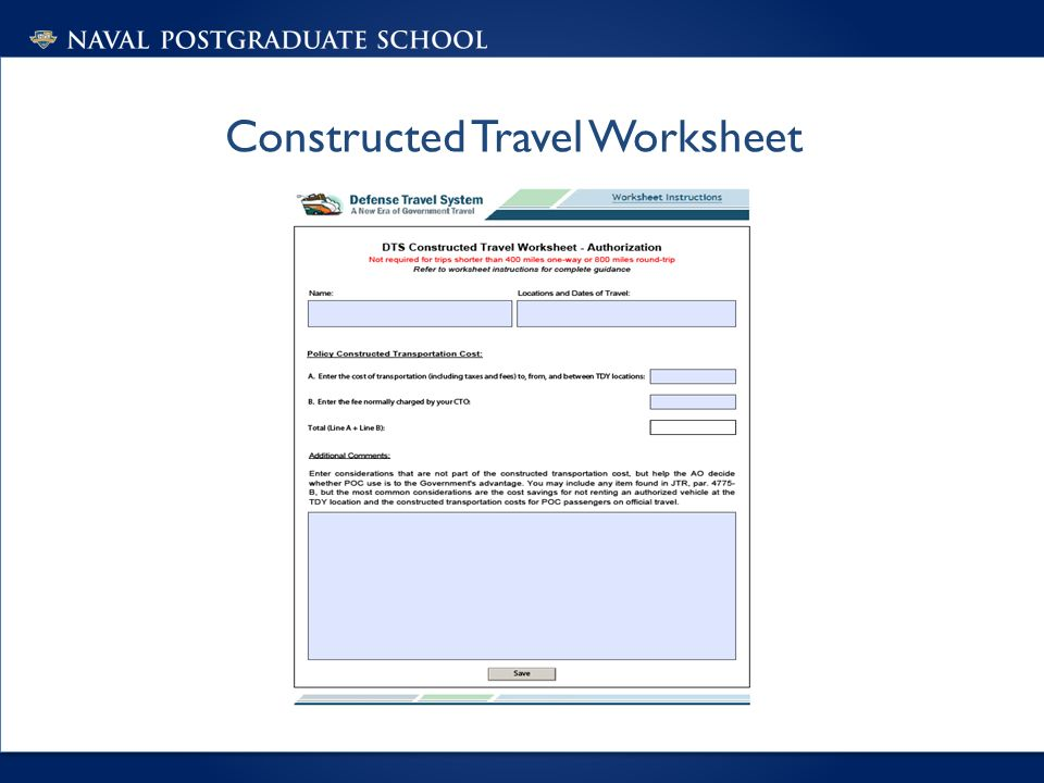 DTS Presentation Author DTS Helpdesk Date April ppt download – Dts Travel Worksheet