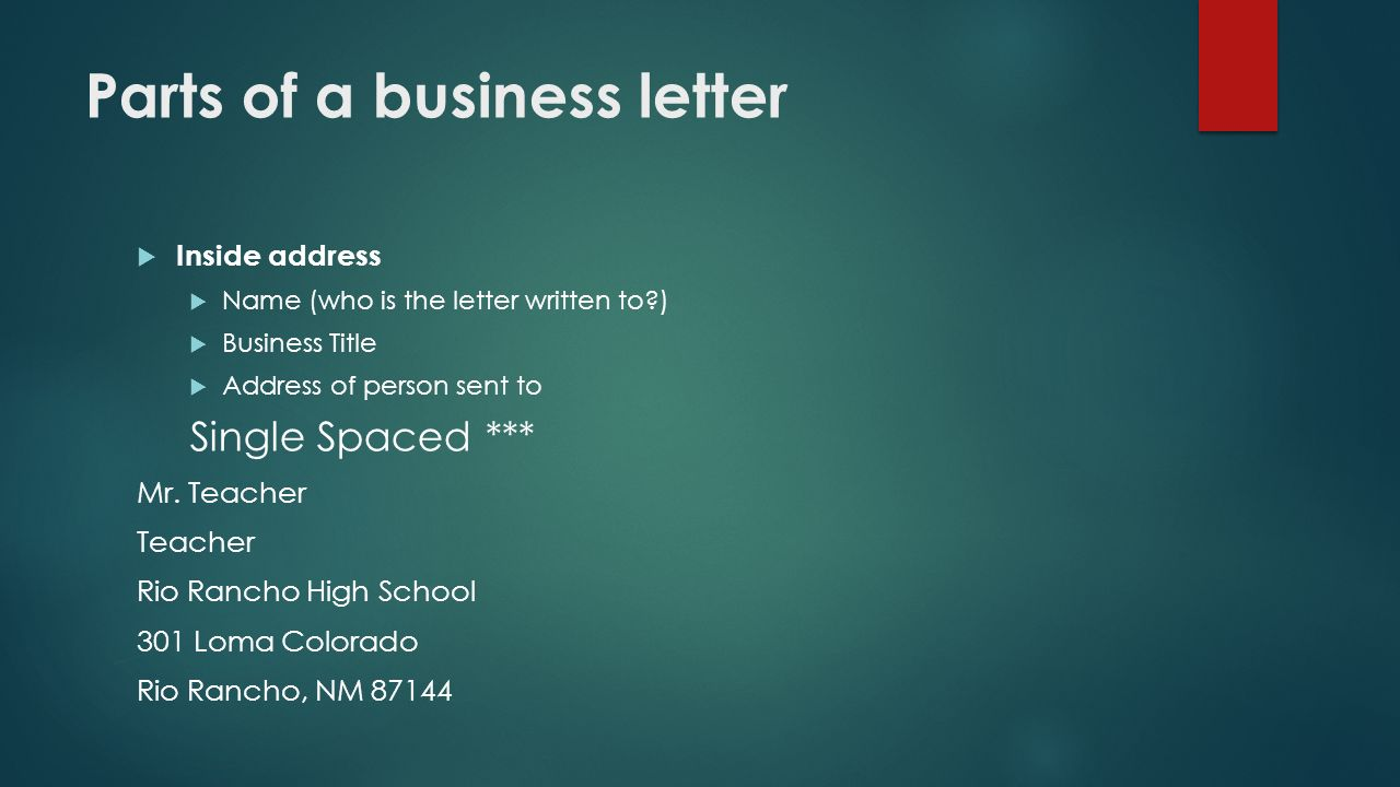 Communication Skills Writing On The Job Business Letters Ppt