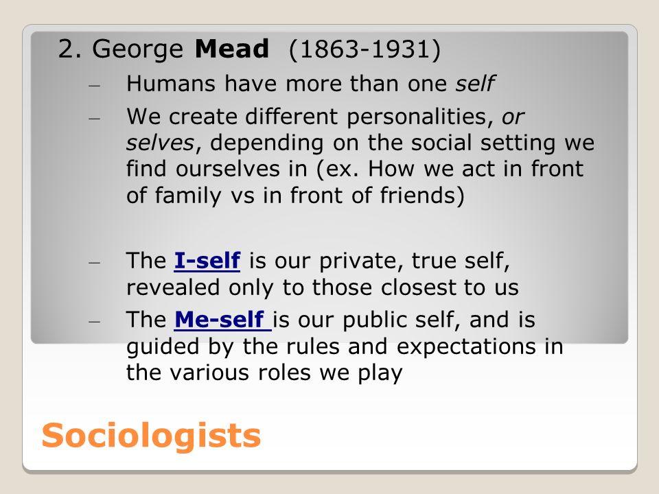 Sociologists 2.