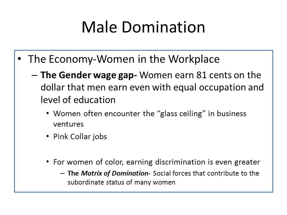 Matrix of domination and men