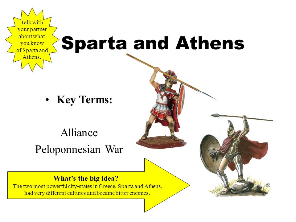 an analysis and a comparison of the two city states in greece athens and sparta