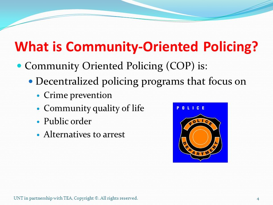 what is policing