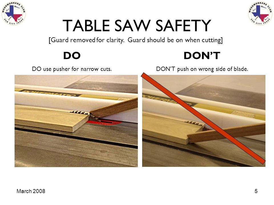 march table saw safety the table saw is