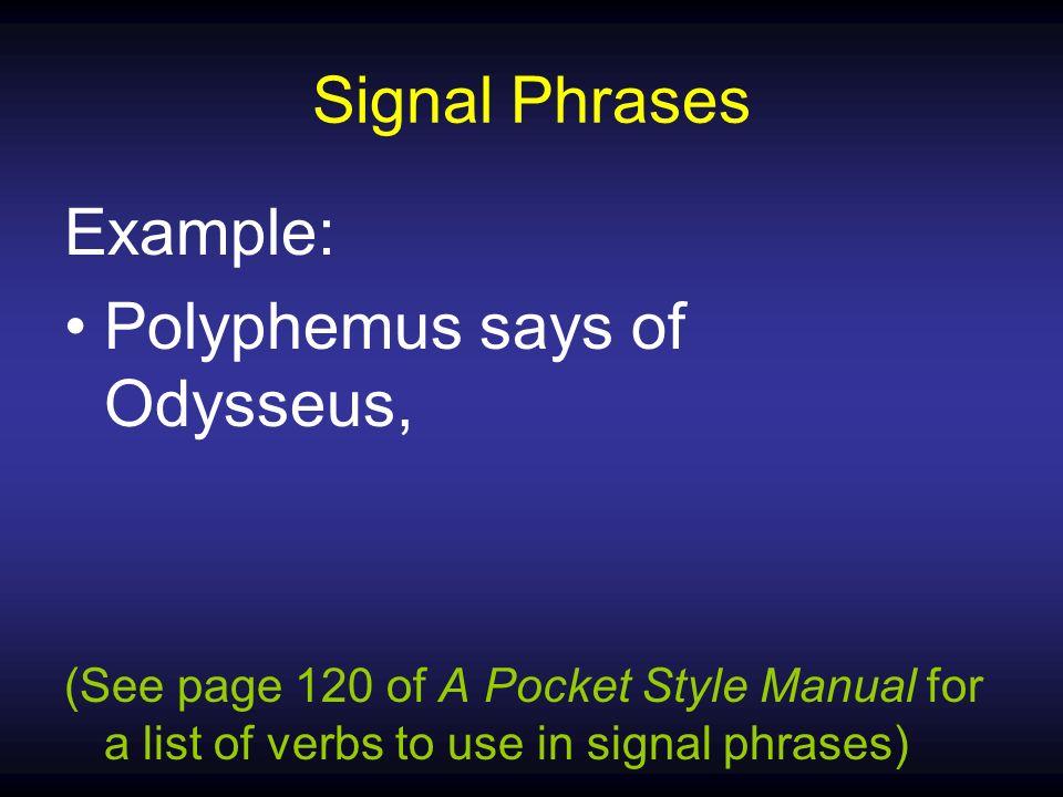 List of signal phrases