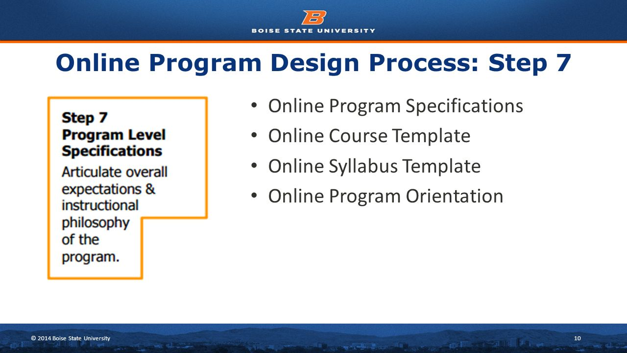 online syllabus template