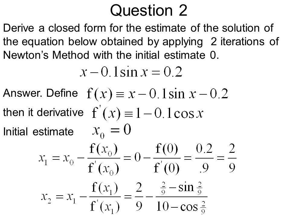 Answers for Review Questions for Lectures 1-4. Review Lectures 1-4 ...