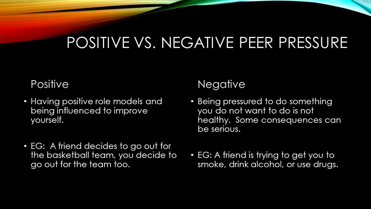 response questions peer pressure All lesson plans for peer pressure learning to fight peer pressure - -esteem objectives students will discuss what peer pressure means to them students will give examples of peer pressure.
