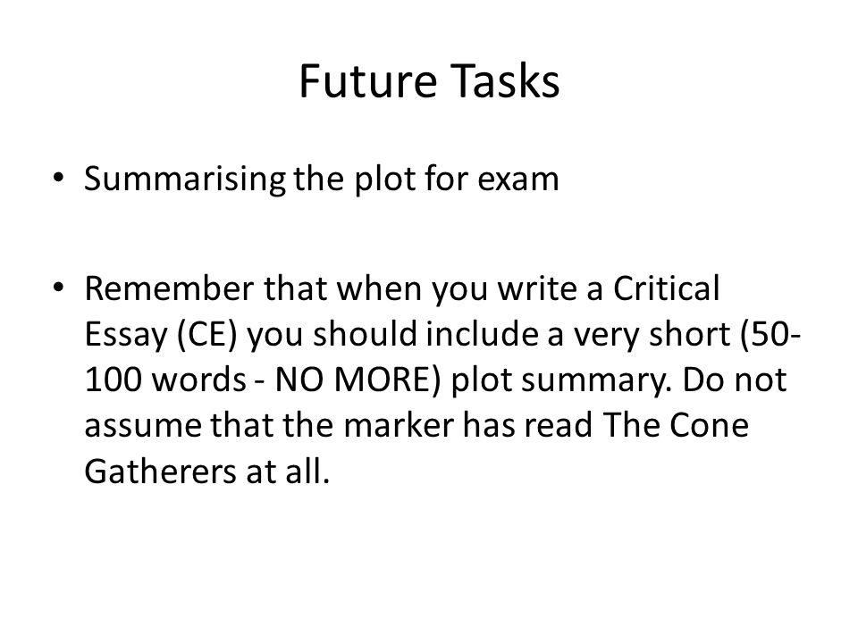 50-100 words essay ?