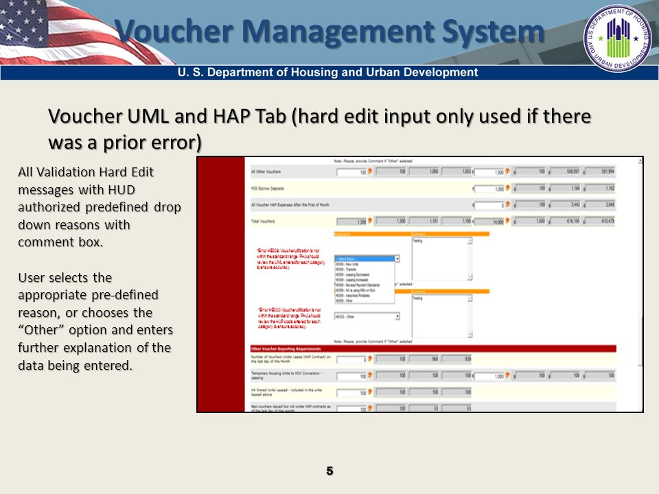 1 Voucher Management System Changes – – Tabular Form layout ...