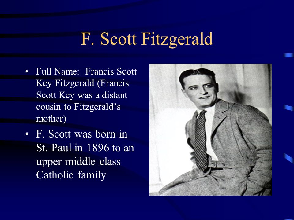 how does f scott fitzgerald create A e biography f scott fitzgerald the american dreamer 1 how did the failures of from english la 11th grade at colonial forge high.