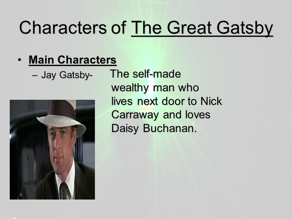 Essay The Great Gatsby