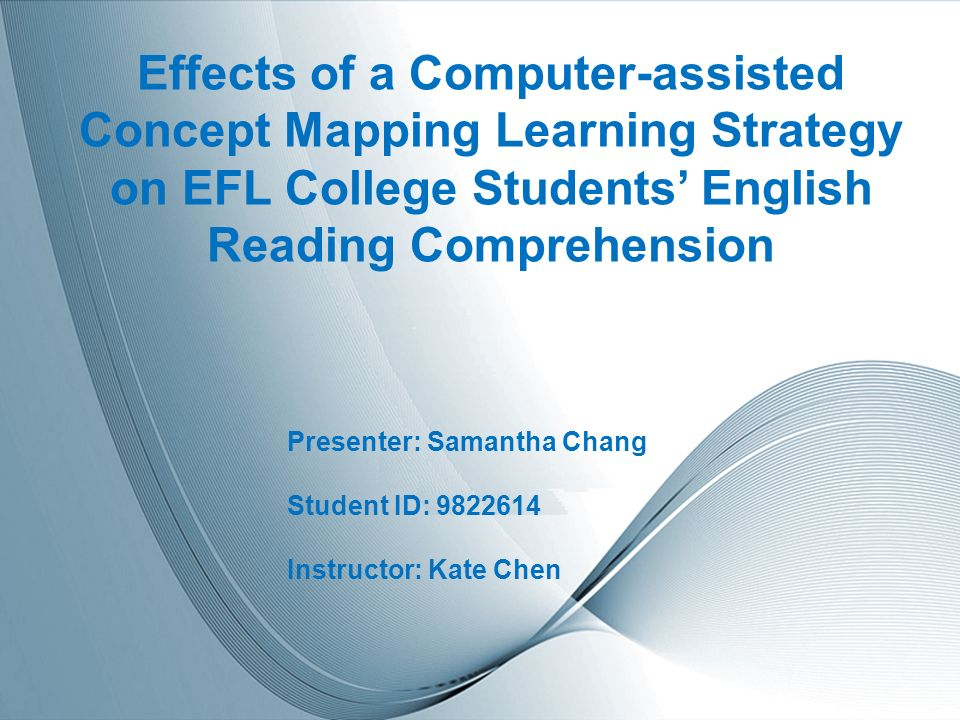 effecting reading comprehension with computer quizzer