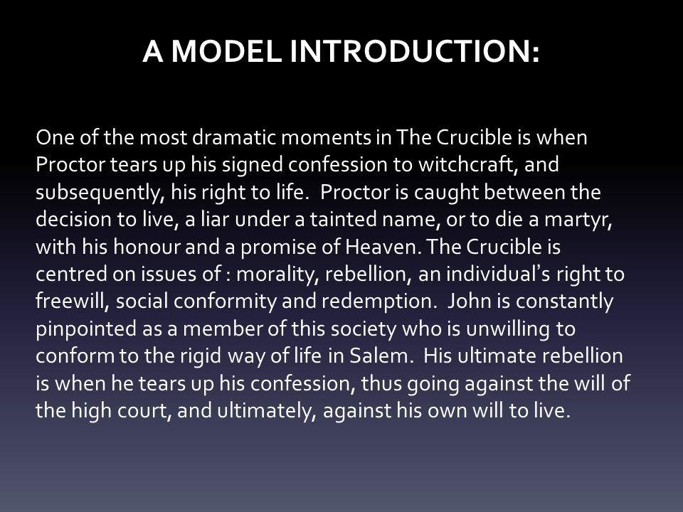 the crucible 7 essay