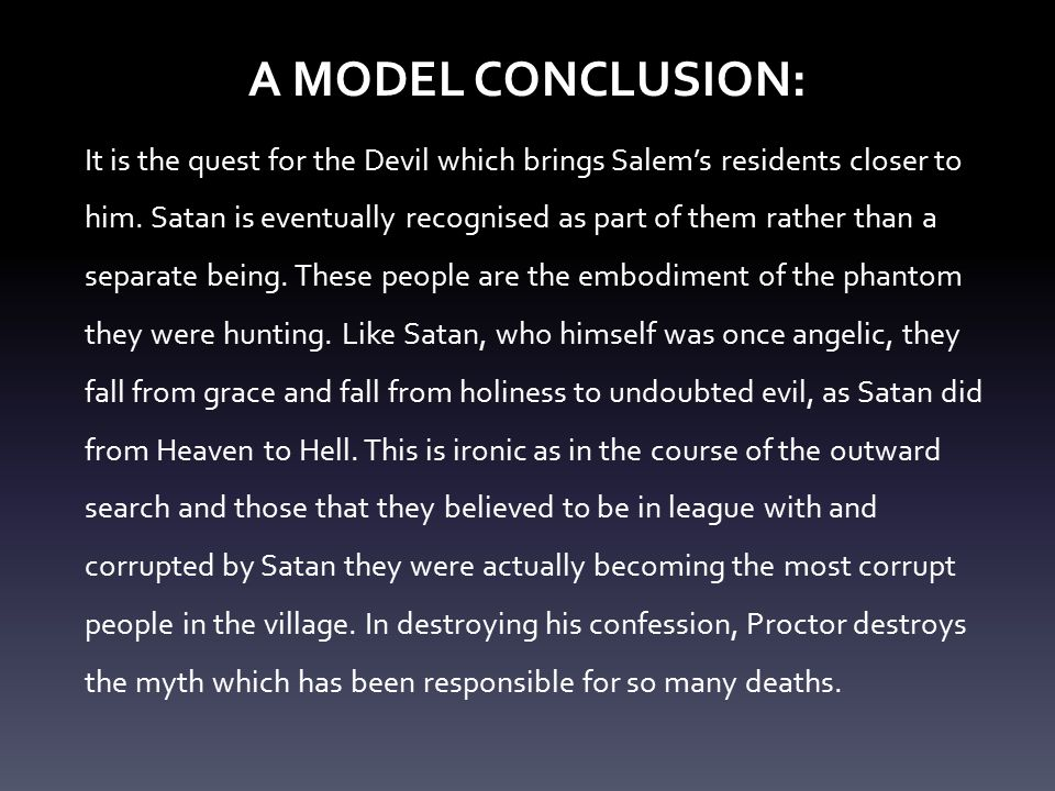 good vs. evil essay conclusion