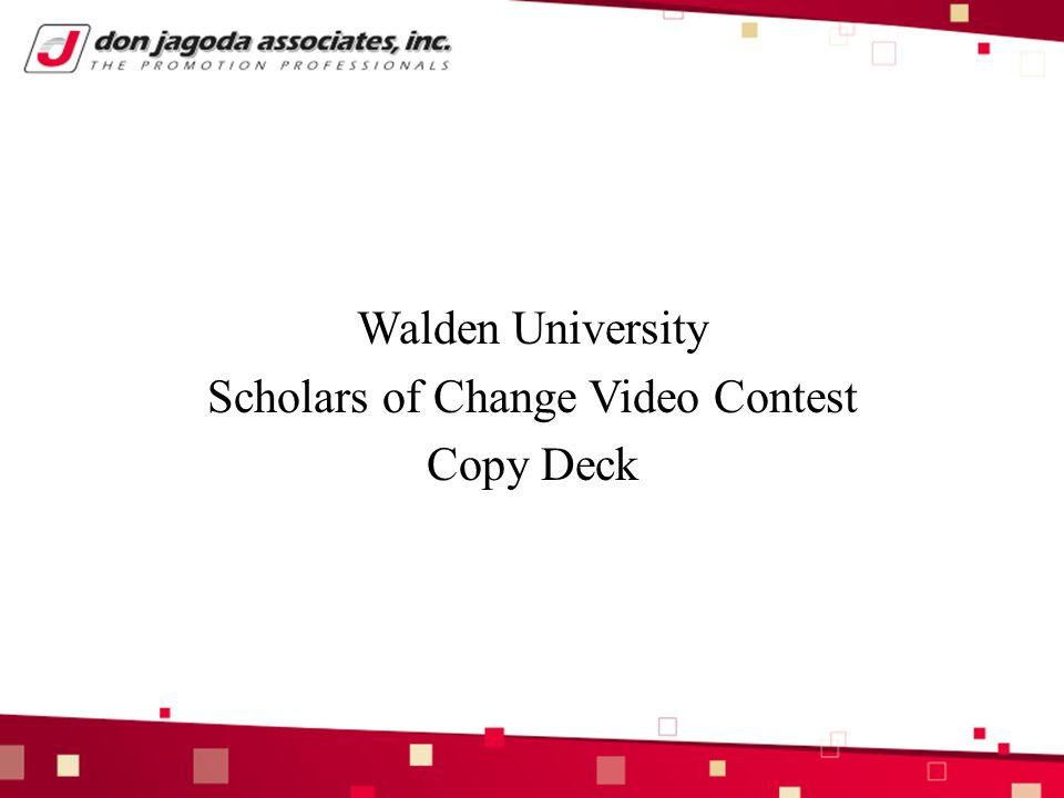 walden university reflective essay