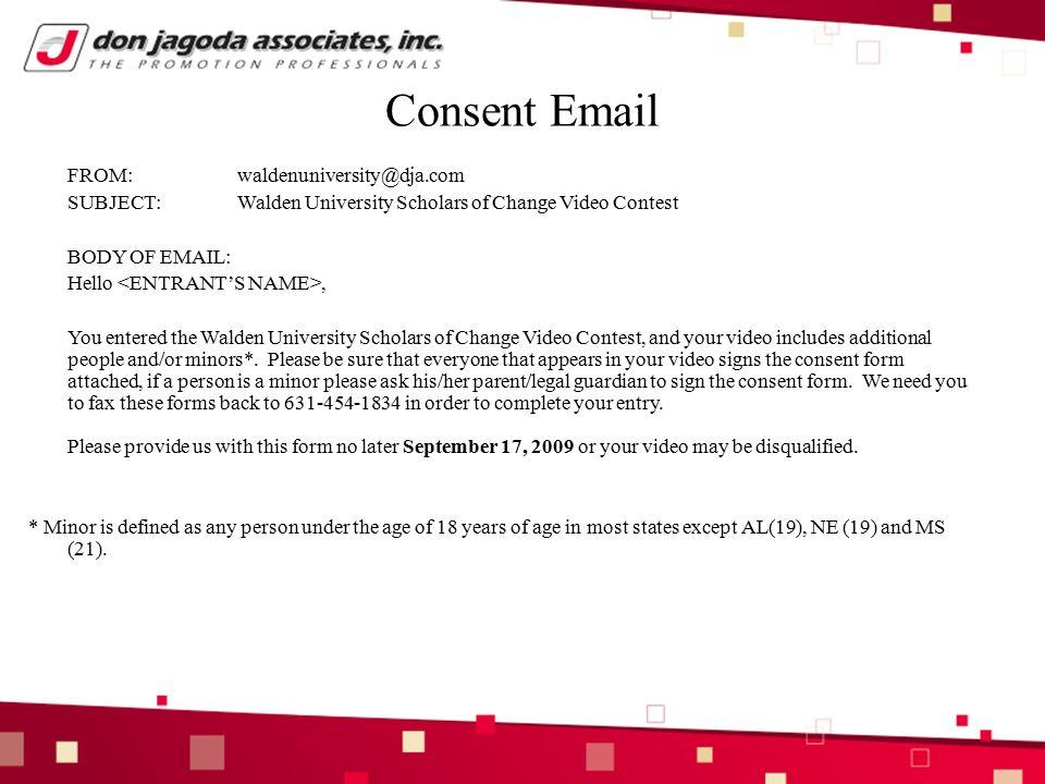 Walden university email