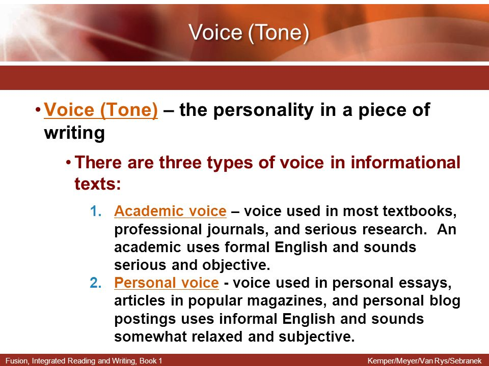 kinds of tone in an essay Most people choose their words and the tone behind those words based on the environment and the situation for example, one probably will not speak to a police officer in quite the same way that one will speak to a best friend.