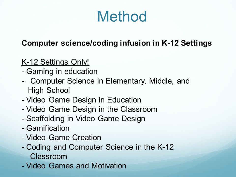 video games in education settings