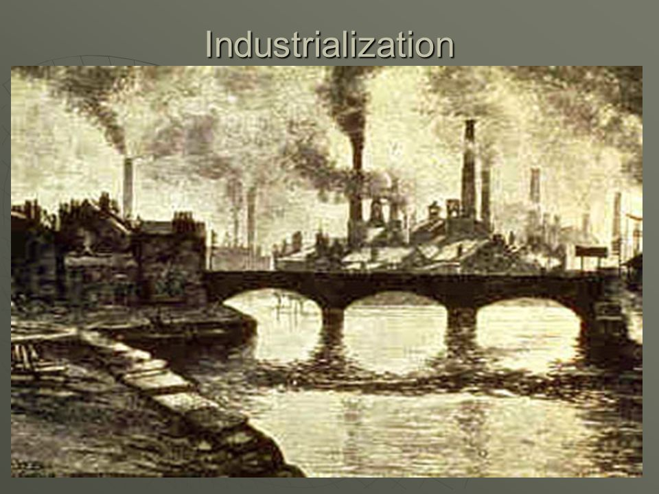 end of feudalism cause industrial revolution
