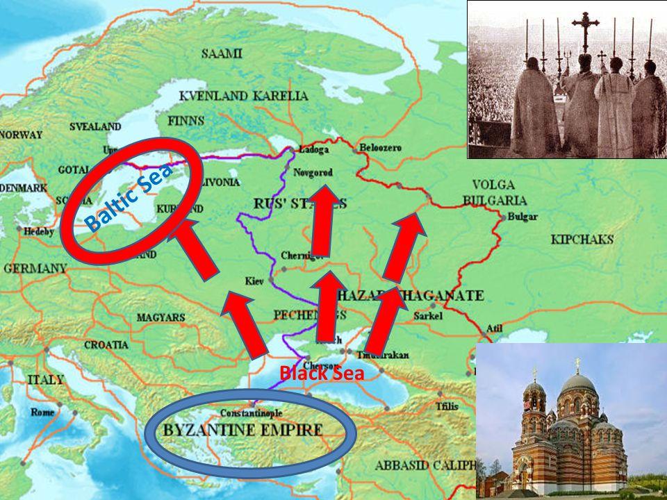 Baltic Sea Black Sea