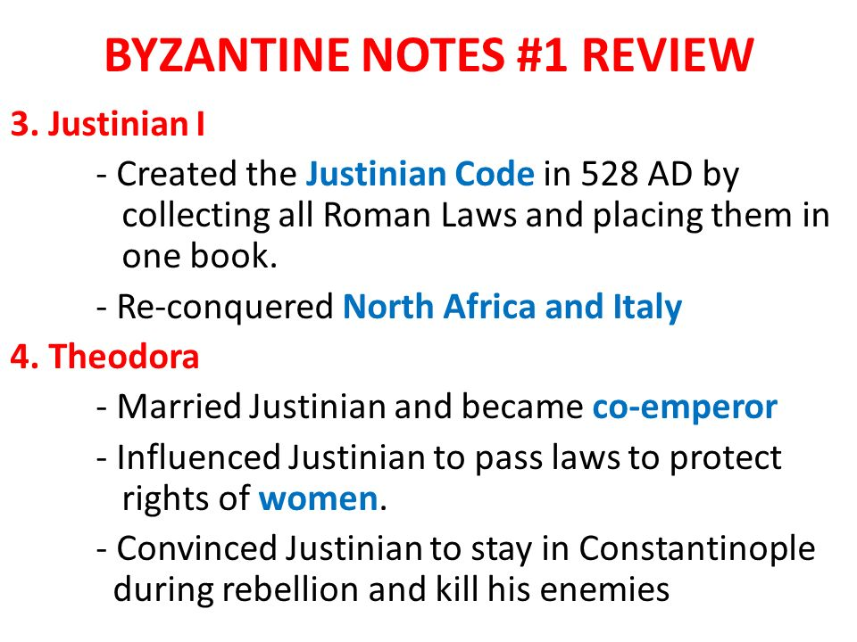 BYZANTINE NOTES #1 REVIEW 3.