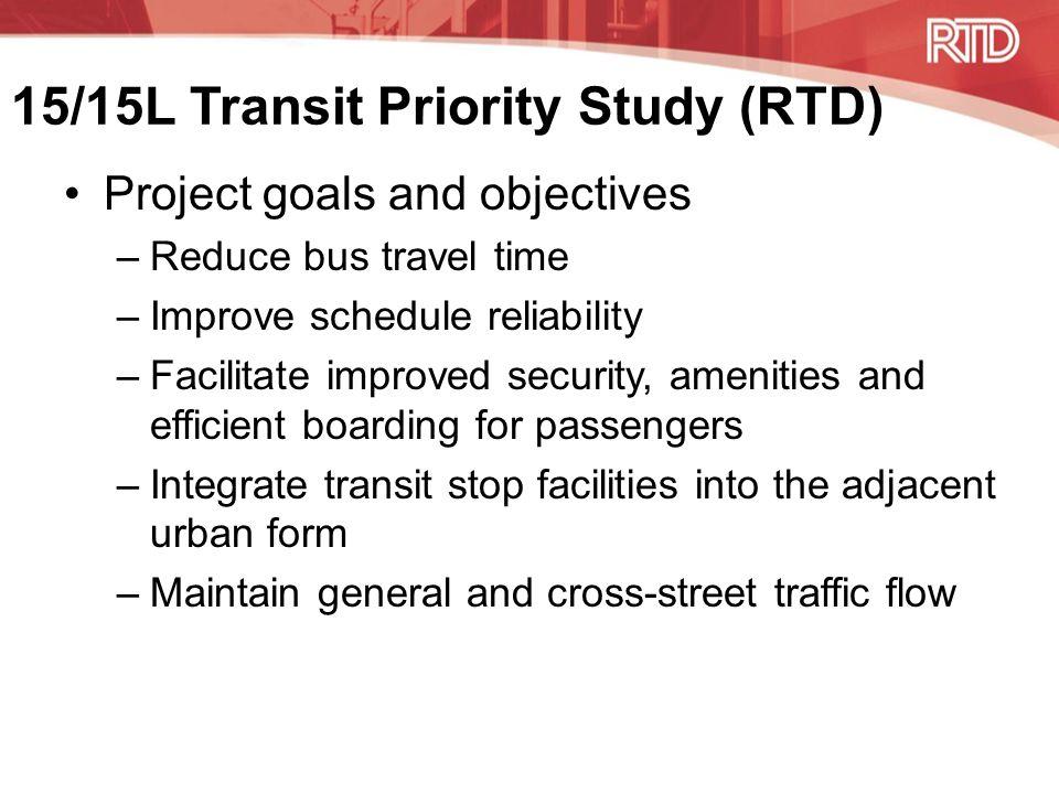 Colfax Corridor Connections (Denver) & 15/15L Transit