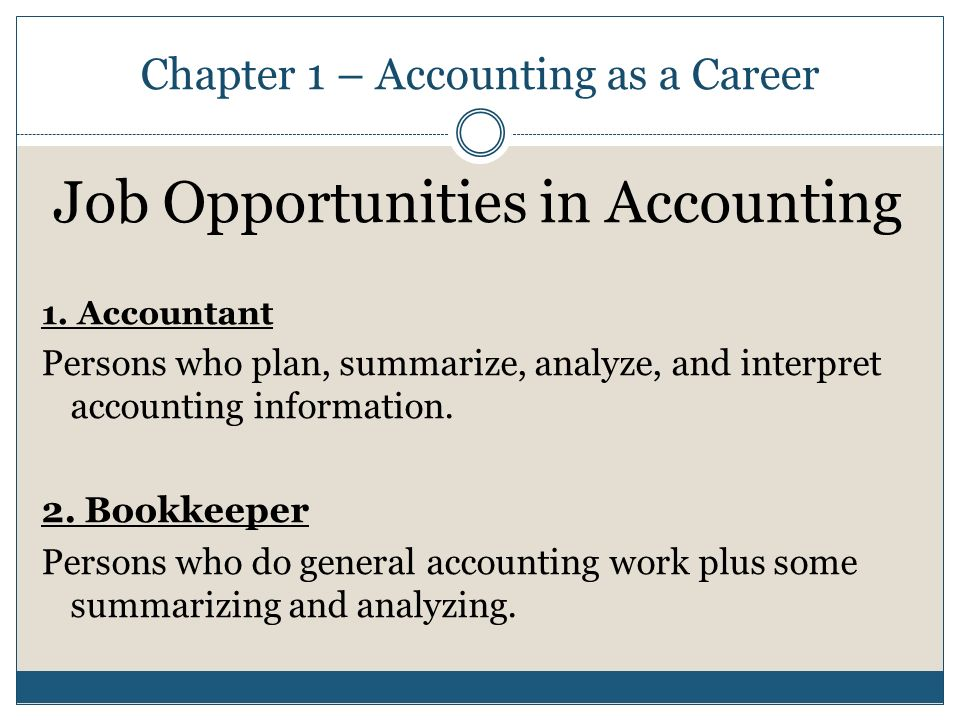 career plan as an accountant Essay on my career path for accounting by lauren accounting career paths are very varied and this is why many a times which include planning tax.