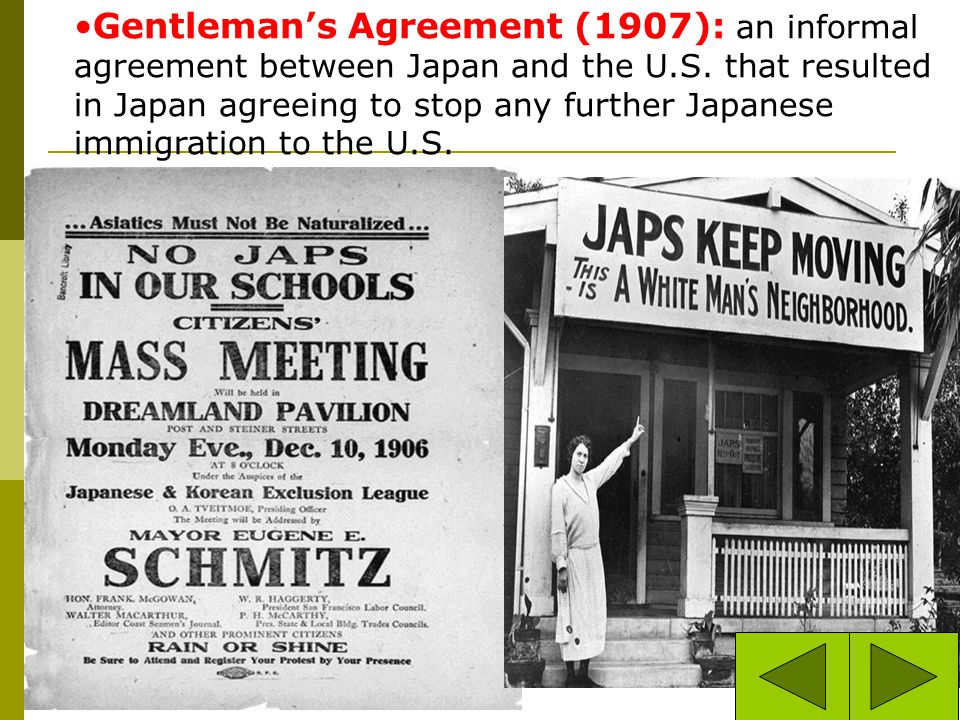 The Chinese Exclusion Act 1882. Chinese unskilled workers were forbidden to immigrate. Skilled workers needed some proof from the Chinese governmentdi