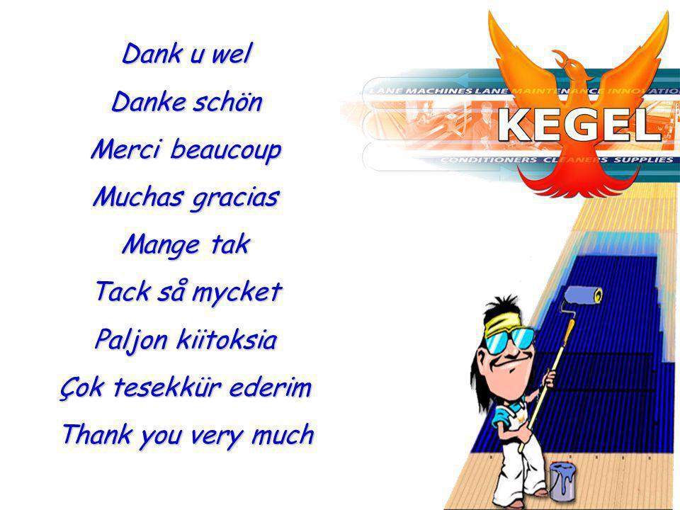 Dank u wel Danke schön Merci beaucoup Muchas gracias Mange tak Tack så mycket Paljon kiitoksia Çok tesekkür ederim Thank you very much
