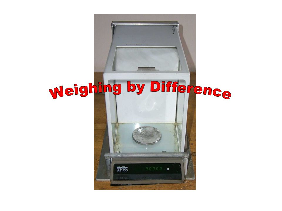 Result In this case, the weight of the total transferred sample is within the limits of acceptable size 215.3 mg is between 160 mg and 240 mg - the acceptable sample size We have succeeded in our original goal.