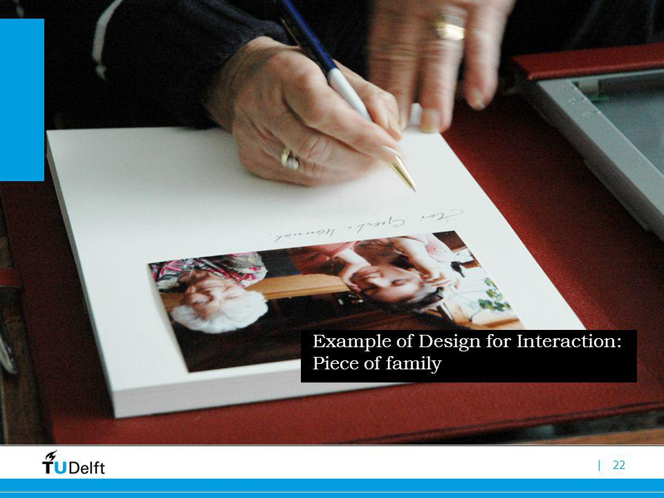 |22 Example of Design for Interaction: Piece of family