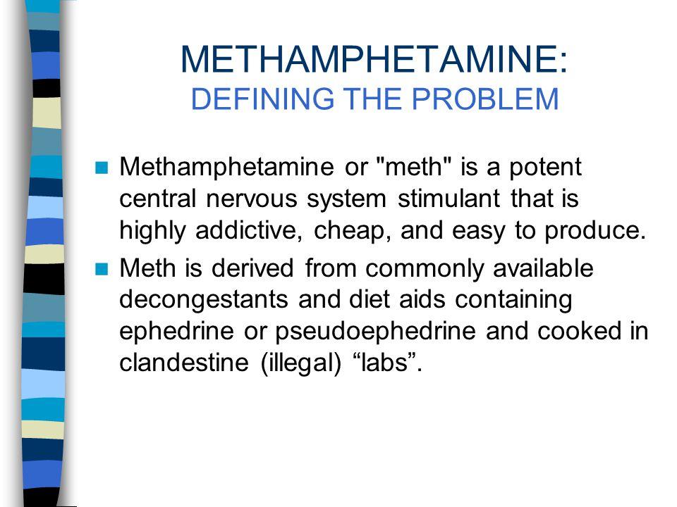 METHAMPHETAMINE: A NEW SURFACE CONTAMINANT