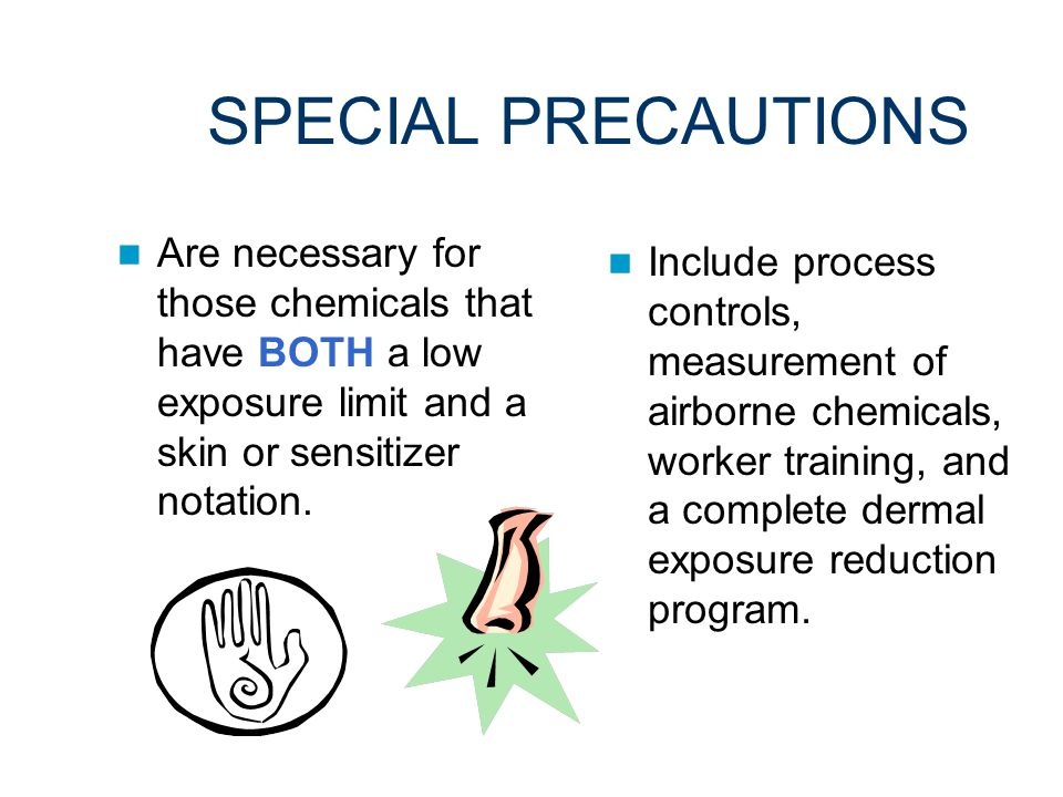 THE ACGIH SENSITIZER NOTATION (SEN) Is designed to protect workers from becoming sensitized through respiratory, dermal, and conjunctival exposures.