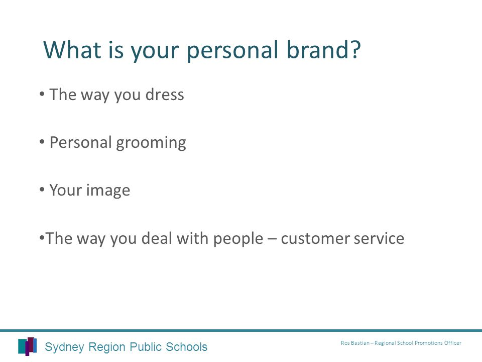 What is your personal brand.